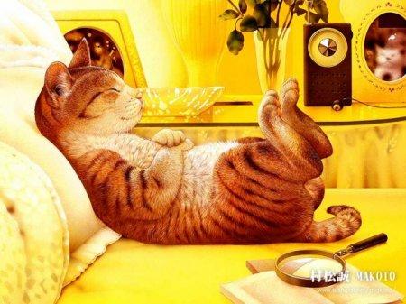Дневник кота Лаки в стихах…